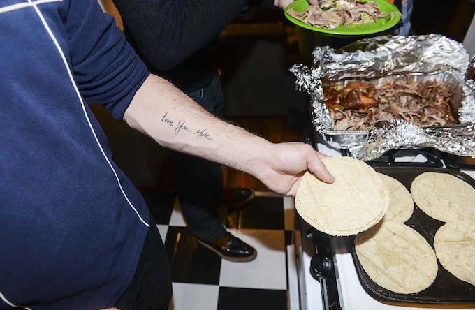 Chef Phillip Basone Hosts Dinner in New York for Friends in the Fashion Industry