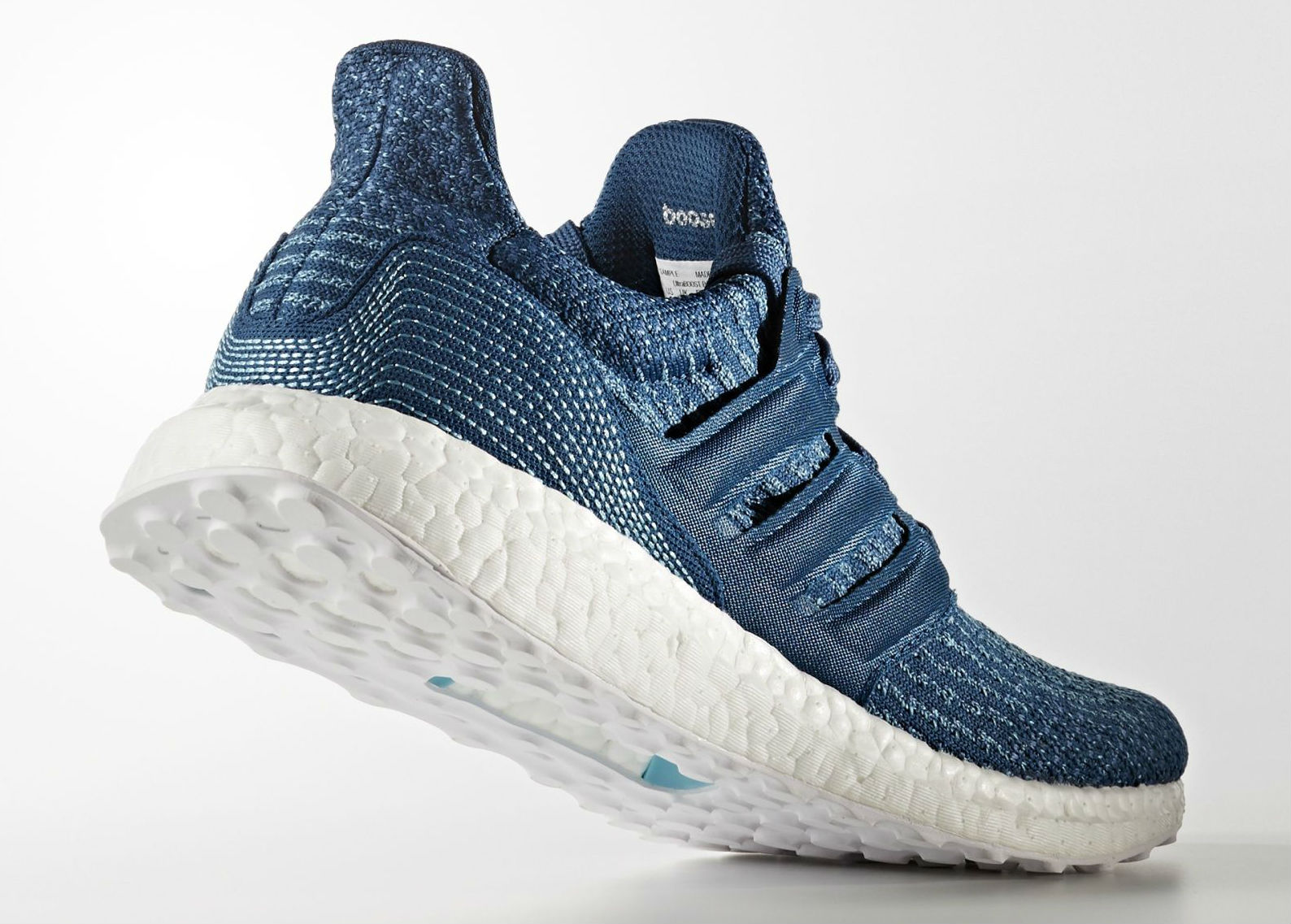 Parley x adidas Ultra Boost Blue Men's Lateral BB4762
