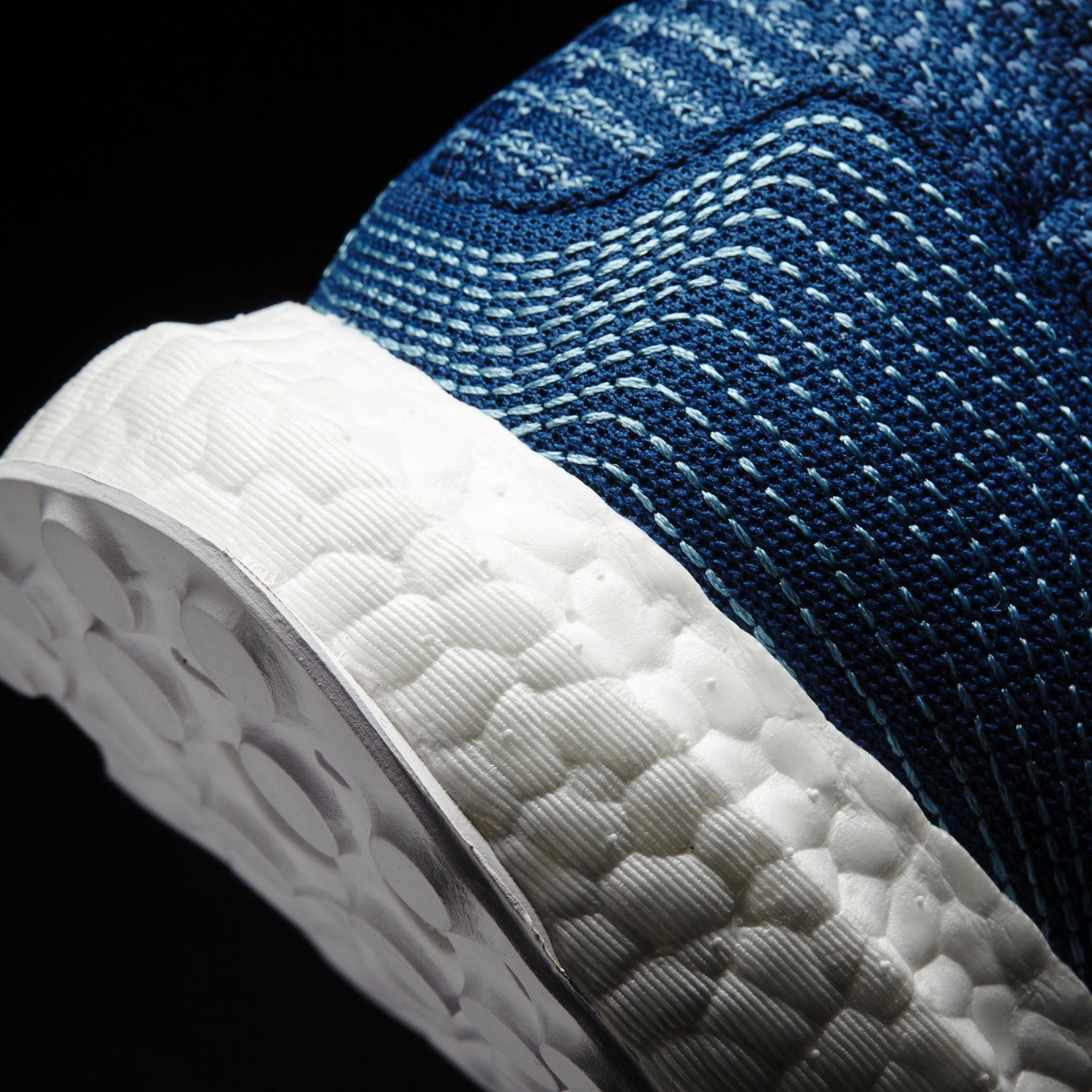 Parley x adidas Ultra Boost Blue Men's Heel BB4762