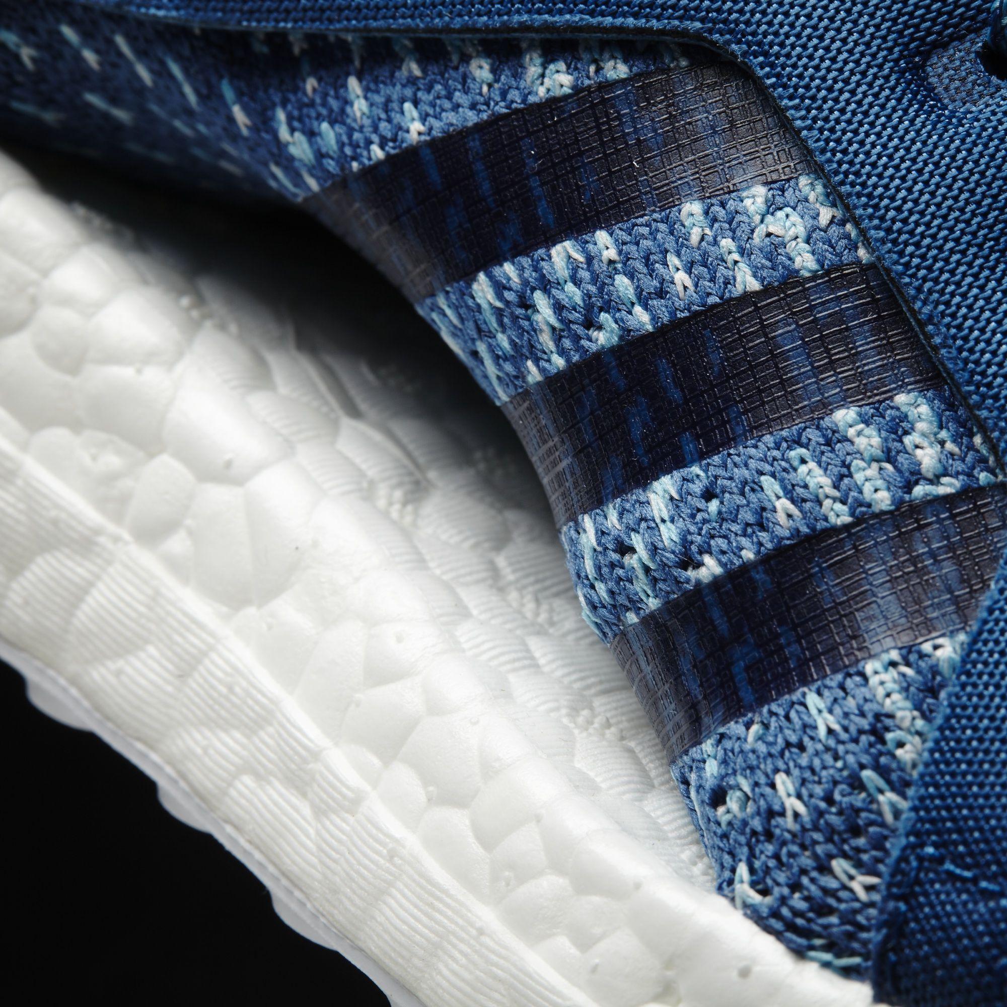 Parley x adidas Ultra Boost Blue Women's Stripes BB1978