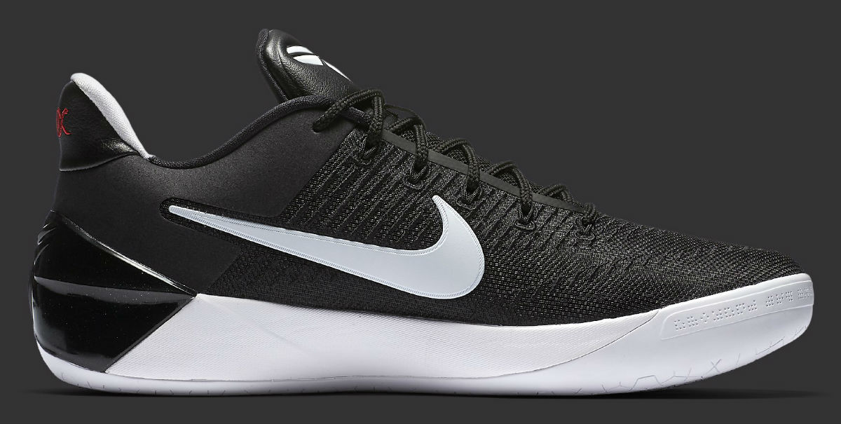 new arrival 28d26 d76d0 Nike Kobe AD 12 Black/White Main 852425-001 | Sole Collector