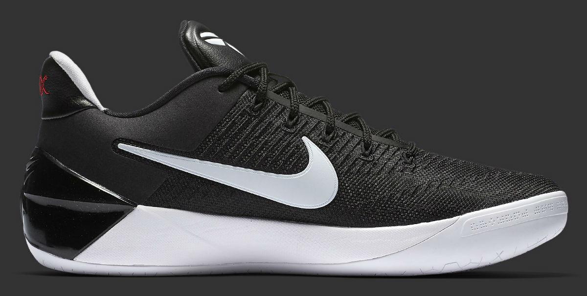Nike Kobe AD 12 Black/White Main 852425-001 | Sole Collector