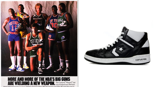 Black And Green Larry Bird Cons Shoes