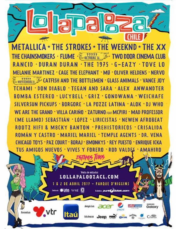 Lollapoolza Chile