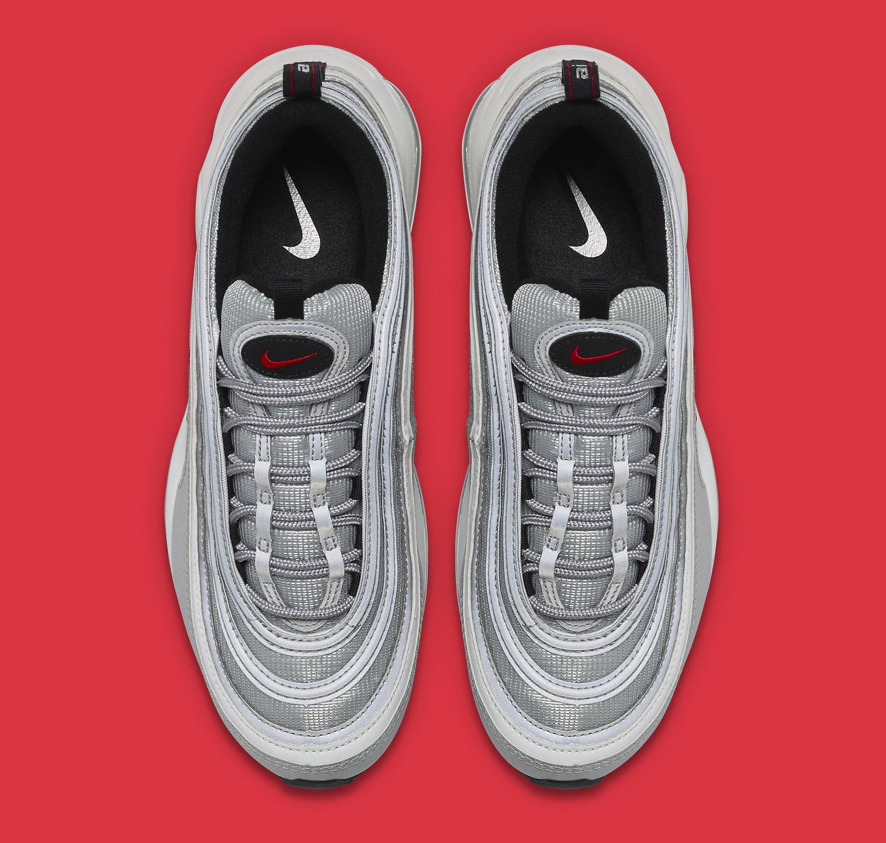 Silver Nike Air Max 97 884421-001 Top