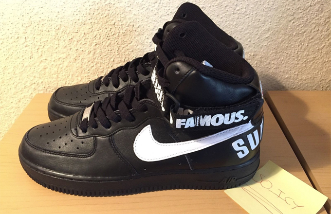 ... supreme x nike air force 1 high release date complex