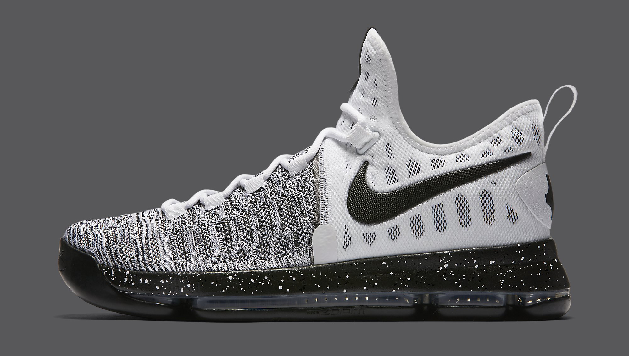new styles 7a4cc 406c4 Nike KD 9 Black White Oreo 843392-100 | Sole Collector