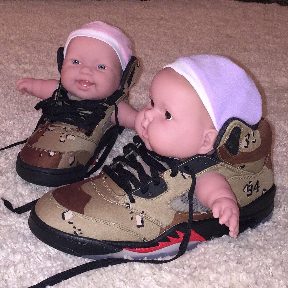 Supreme Baby Jordans