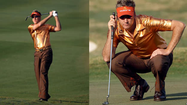 Ian Poulter worst outfit