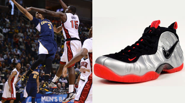 Anthony Bennett in the Nike Foamposite One