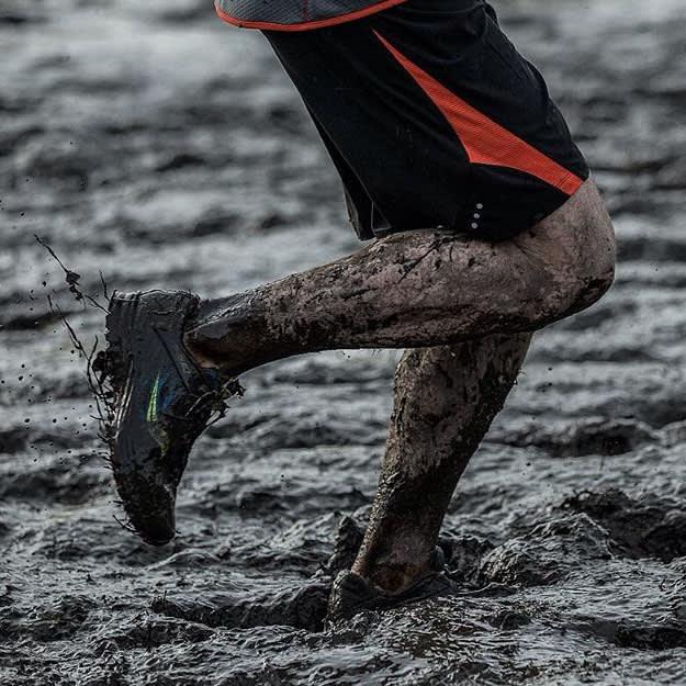 Muddy Sauconys