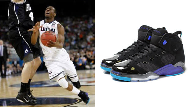 Kemba Walker in the air Jordan 6-17-23