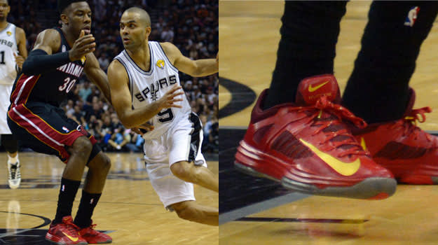 Norris Cole in the Nike Hyperdunk 2012 Low
