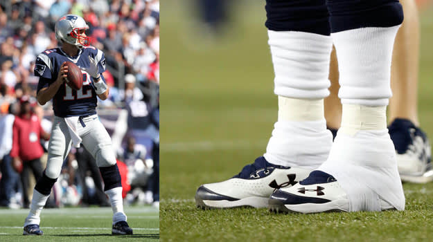 Tom Brady Customer Under Armour Cleat