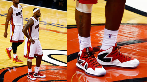 LeBron X PS Elite Home PE