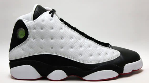 Air Jordan 13 White/Black/True-Red