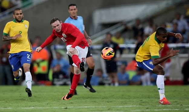 Strikers Rooney
