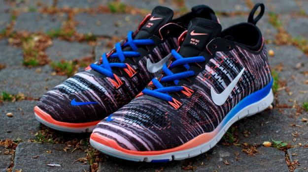 Nike Free 5.0 Tr Passe 4 Utskrifts Kvinner u8Xfw4KM