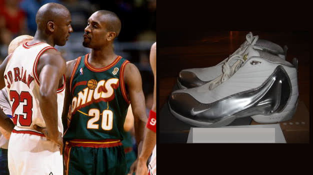 Gary Payton in the Nike Zoom GP IV