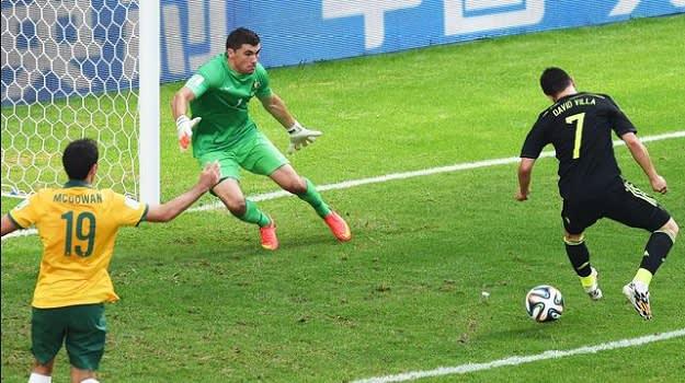 Villa Back Heel Goal