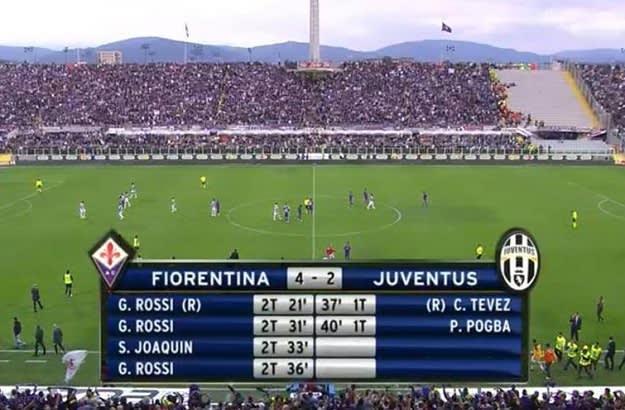 Weekend in Soccer - Rossi Hattrick