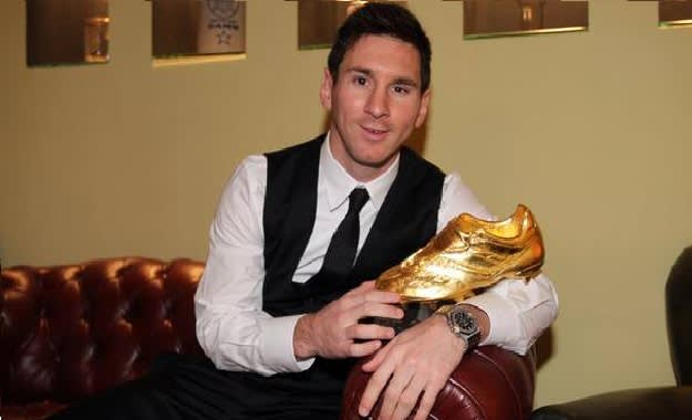 Lionel Messi Golden Boot