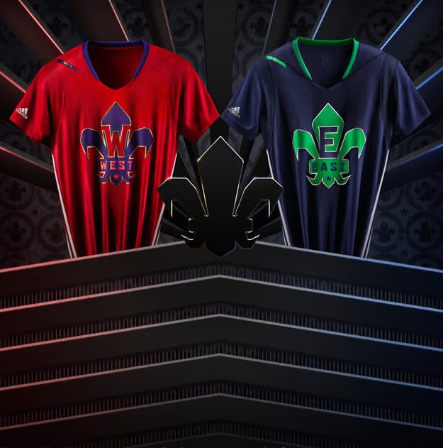 adidas NBA All-Star Jersey EAST WEST copy