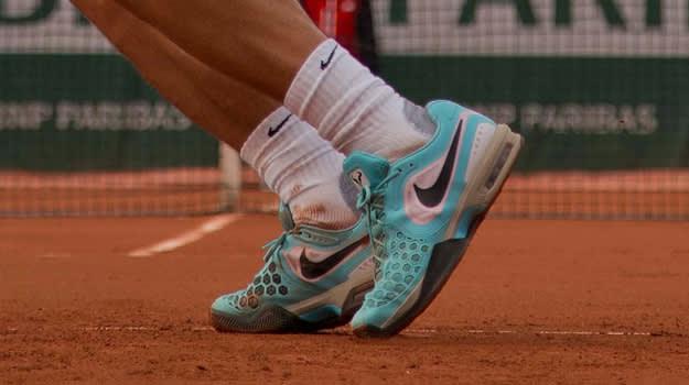 Rafael Nadal Nike Air Max Courtballistec 4