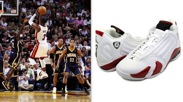 Dwyane Wade Miami Heat Air Jordan XIV
