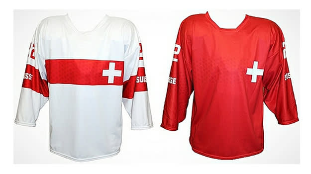 Switzerland Olympic Jersey