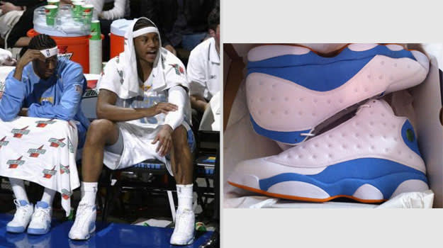 Carmelo Anthony Denver Nuggets Air Jordan XIII