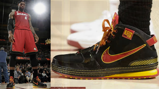 LeBron VI Fairfax Away PE