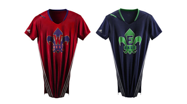 adidas NBA All-Star Jersey EAST WEST Clipped copy