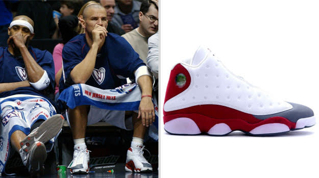 Jason Kidd New Jersey Nets Air Jordan XIII