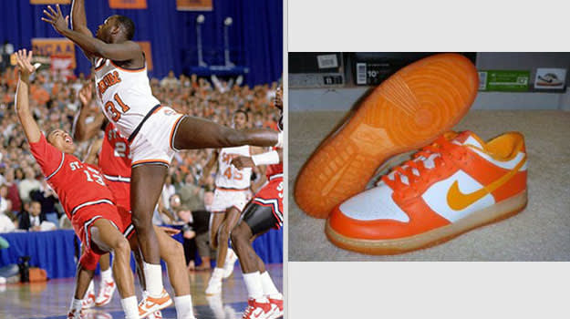 Pearl Washington Syracuse Orangemen Nike Dunk