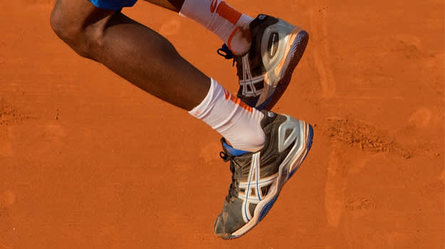 Gael Monfils Asics Gel Resolution 5