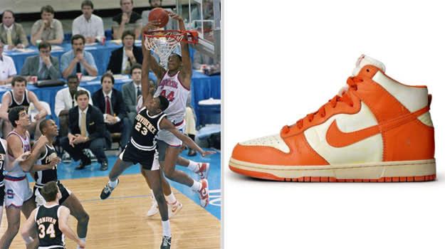 Derrick Coleman Syracuse Orangemen Nike Dunk