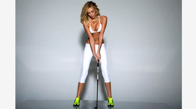 Paulina Gretzky Golf Digest