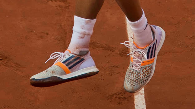 Jo Wilfried Tsonga adidas adizero feather 2