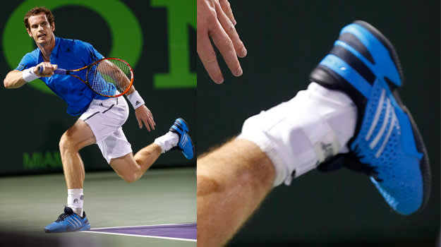 Andy Murray - adidas Barricade