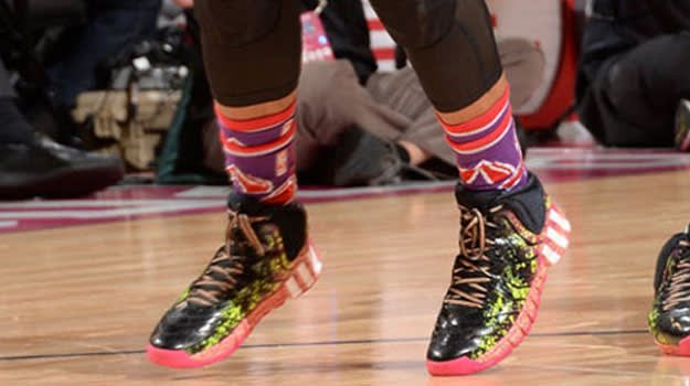 Lillard all star game shoes