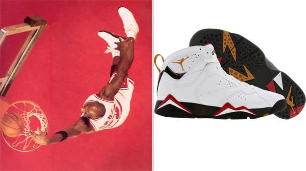 Michael Jordan Chicago Bulls Air Jordan VII