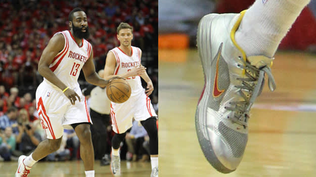 James Harden in the Nike Hypergamer Low