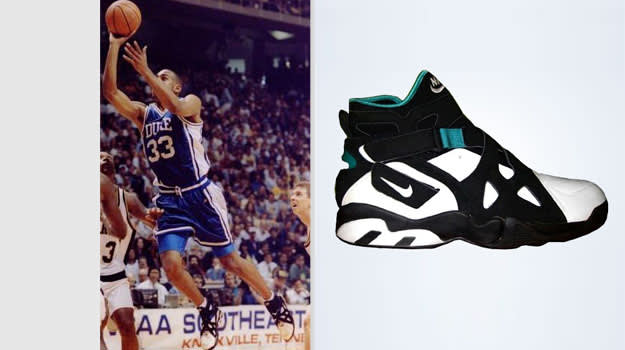 Grant Hill Duke Blue Devils Nike Air Unlimited