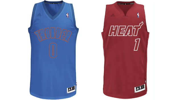 Taking a Look Back at NBA Uniforms of Christmas Past and Present ...