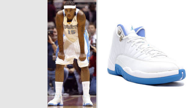 Carmelo Anthony Denver Nuggets Air Jordan XII
