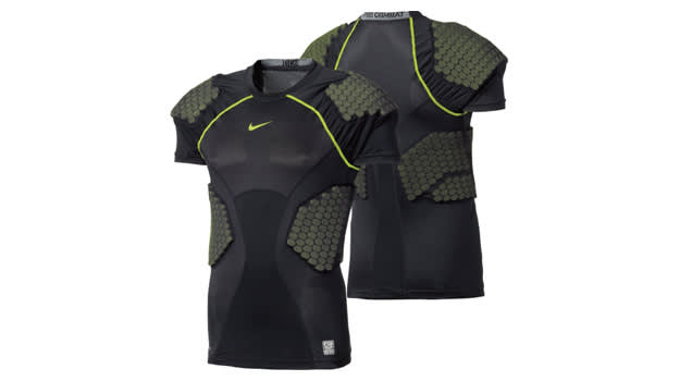 Nike Men's Pro Combat Hyperstrong 4 Pad Football Shirt