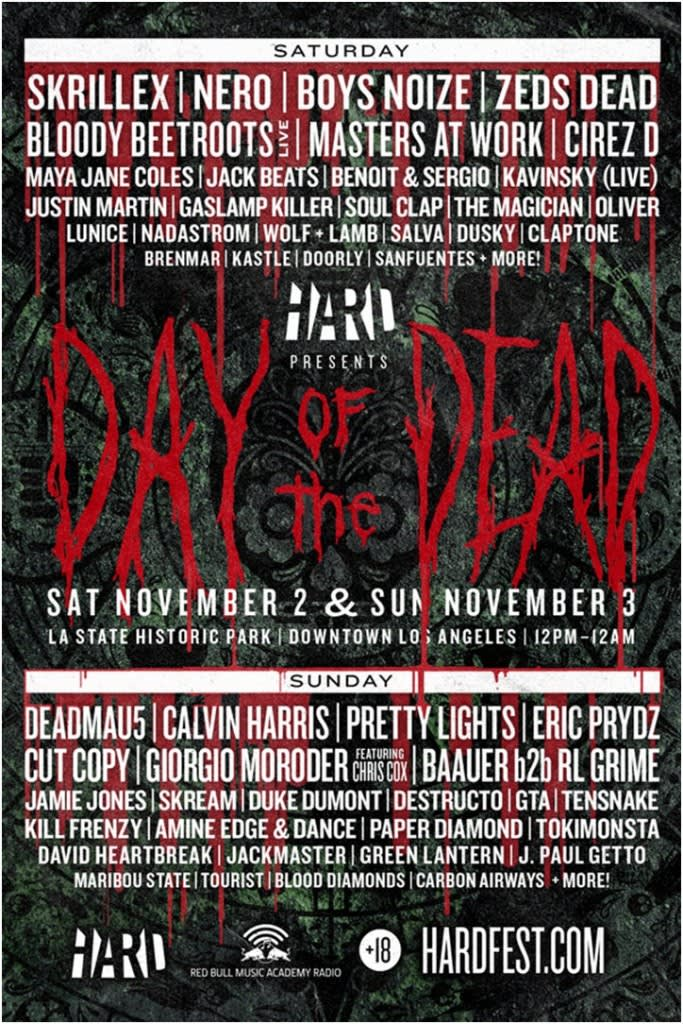 hard-day-of-the-dead-2013-lineup