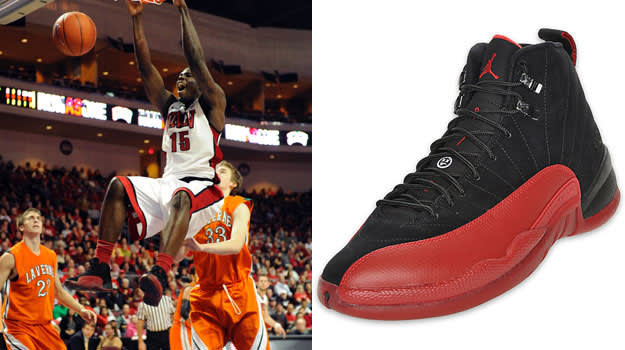Anthony Bennett in the Air Jordan XII