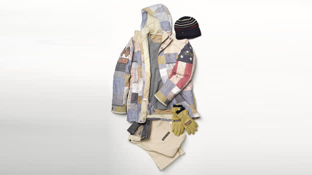 Burton Snowboarding US Team Olympic Mens Outfit